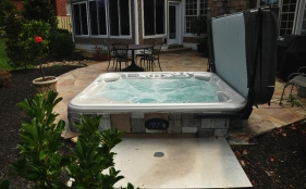 Custom Hot Tub