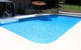 Vinyl Pool with Cover