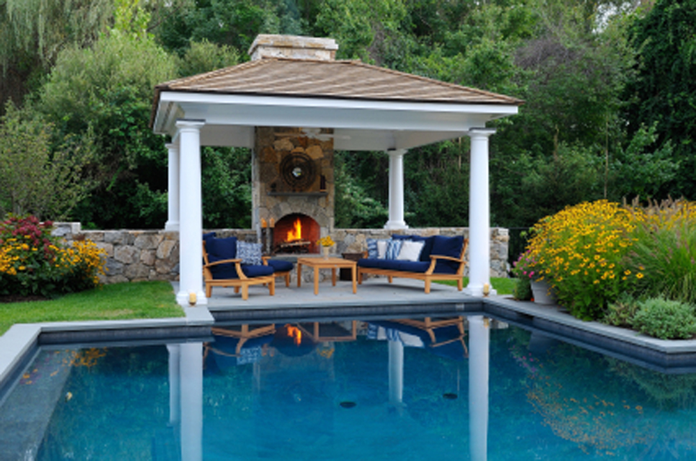 Outdoor Living · Pool Gazebo