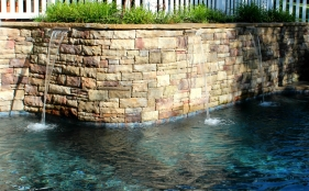 Gunite Pool with Scuppers