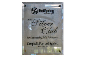 Hot Spring Spas <br/> Dealer Award 2004