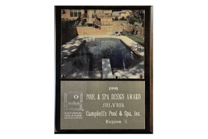 Pool And Spa <br/> Design Awards Silver 1998