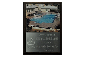 Pool And Spa <br/> Design Awards Silver 2000