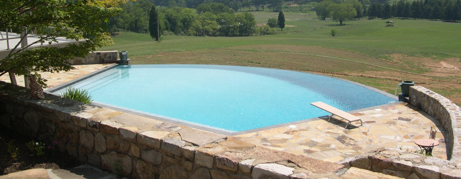 Knoxville pool builder lenoir city hot spring spa dealer for Pool design knoxville tn