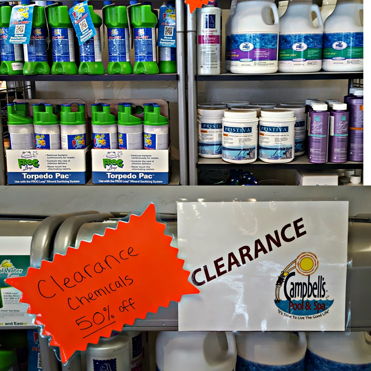 Chemicals on Clearance!