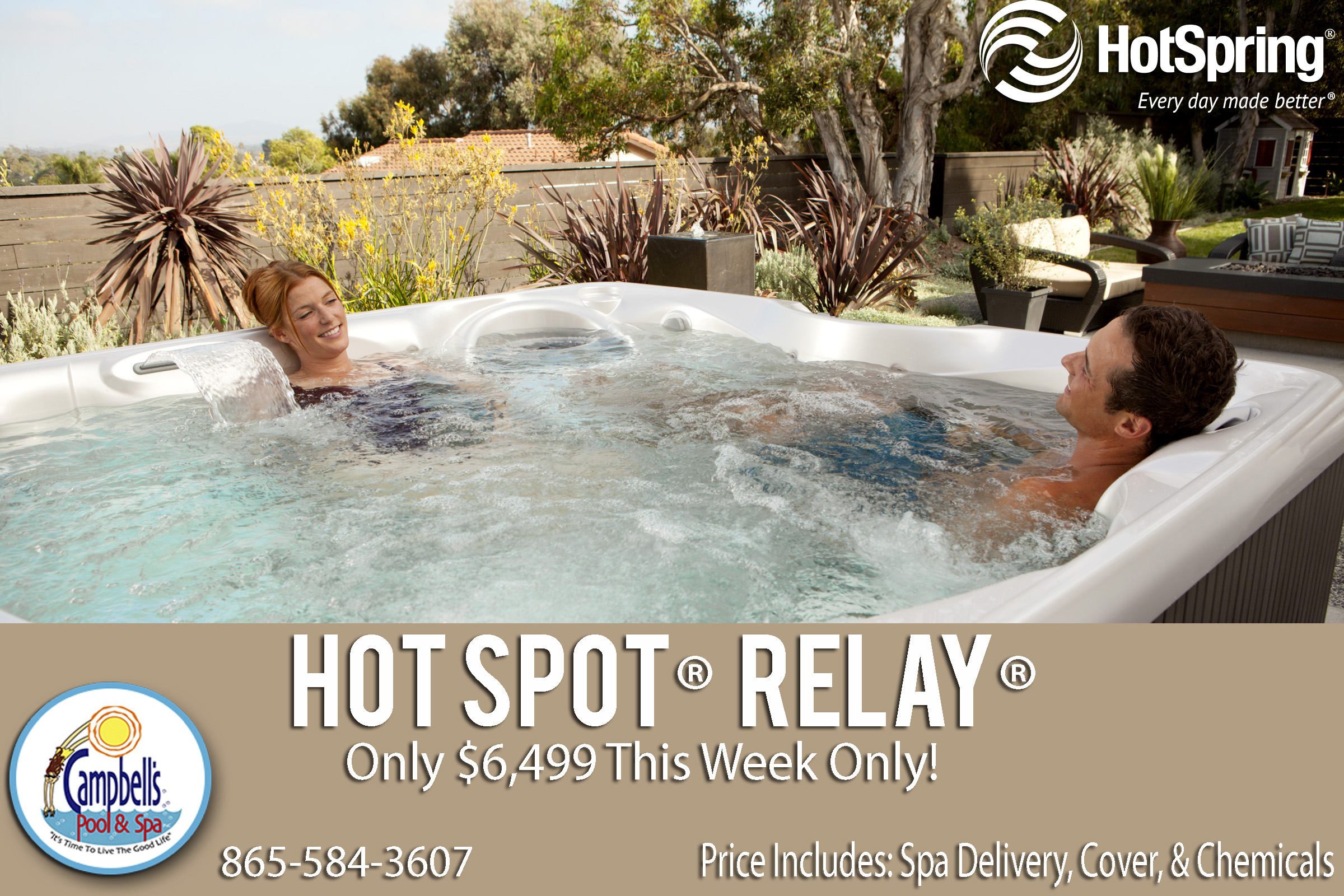 Hot Spring Spas® Relay® Model for Sale