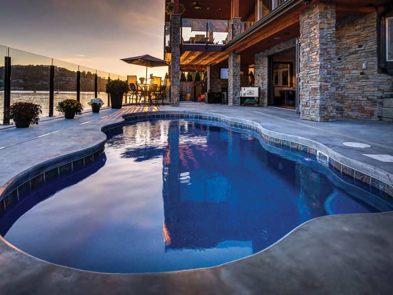 Viking Fiberglass Pools for Every Style