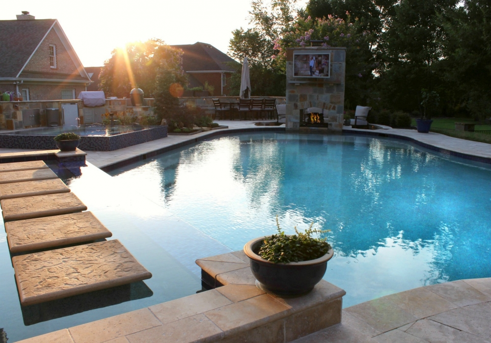 Cool Outdoor Living Products for 2018 - Campbell's Pool & Spa on Outdoor Living Pool And Spa id=75484